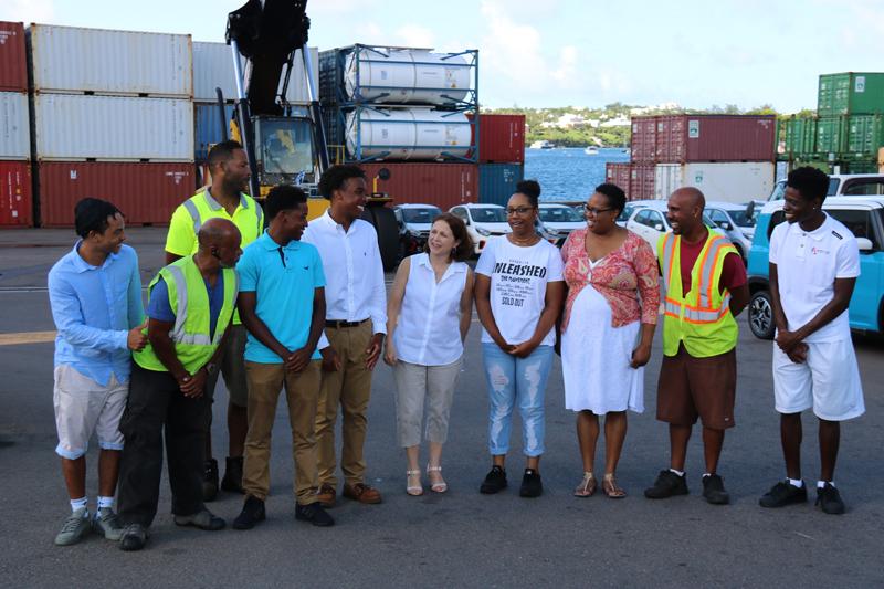 Stevedoring Services Bermuda August 25 2017