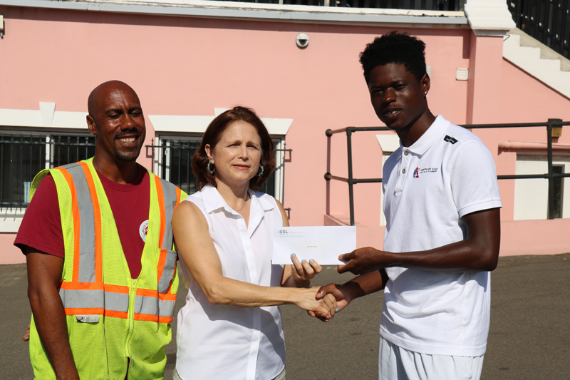 Stevedoring Services Limited Education Award Bermuda August 25 2017 (4)
