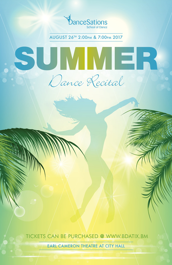 Summer Dance Recital Bermuda August 17 2017