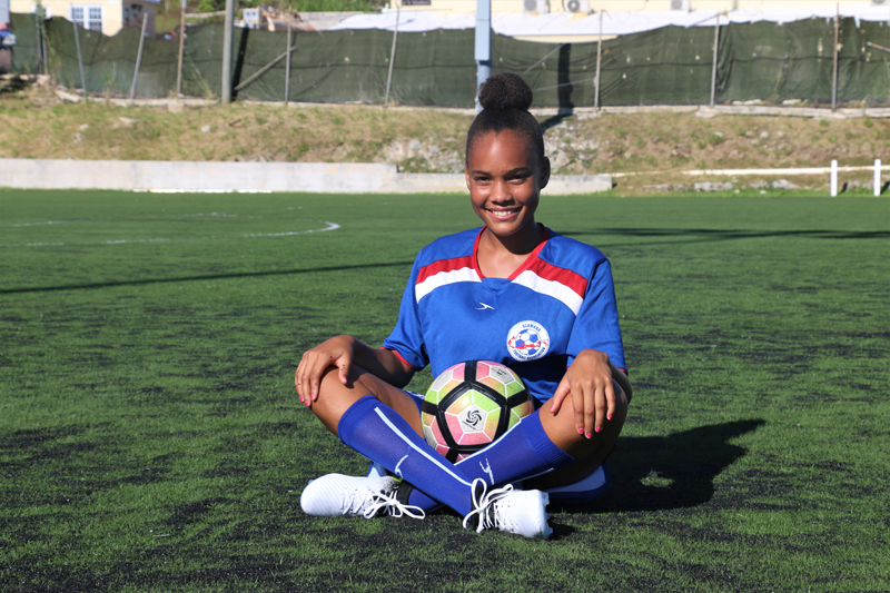Zemira Webb Bermuda Aug 2017