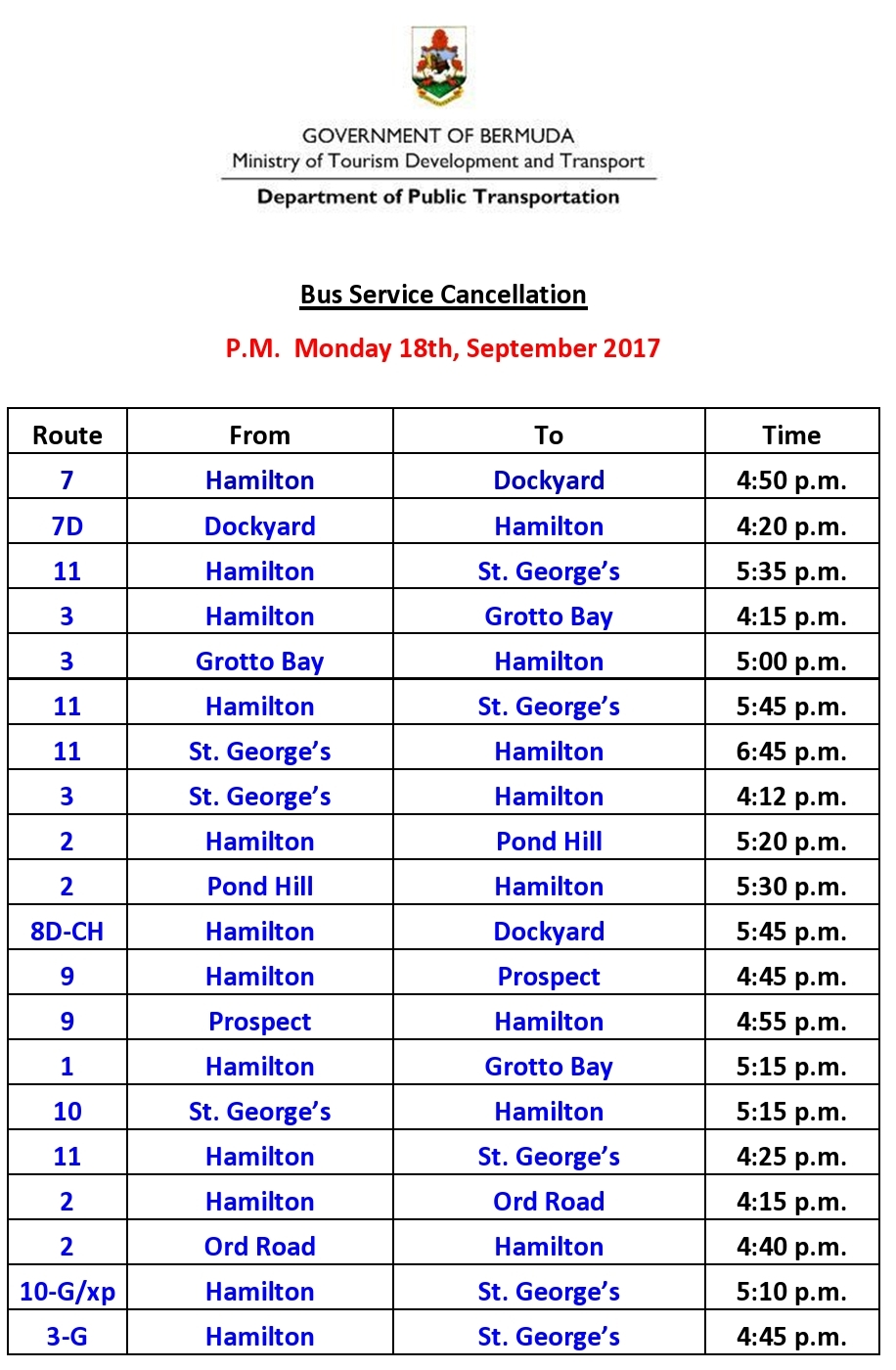 2-Bus Service Cancellation  Monday 18-9-2017-page0001