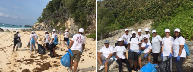 Beach CleanUp Bermuda Sept 2017 (2)