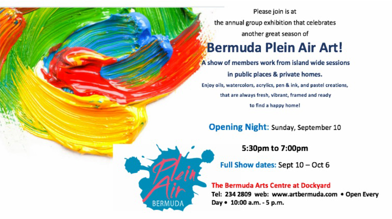 Bermuda Plein Air Show Sept 2017