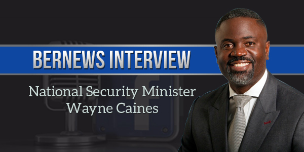Bernews Podcast 2 with National Security Minister Wayne Caines (2)