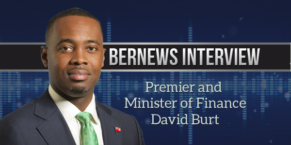 Bernews Podcast with Premier David Burt 2