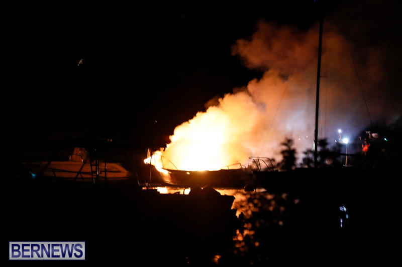 Boat Fire Bermuda, September 1 2017_7018