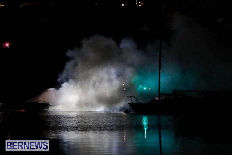 Boat Fire Bermuda, September 1 2017_7029