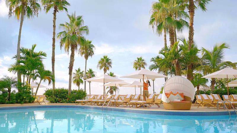 Fairmont Southampton Bermuda Resort Pool Sept 2017