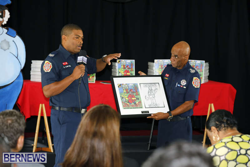 Fire Safety & Colouring Book Launching Bermuda Sept 15 2017 (4)