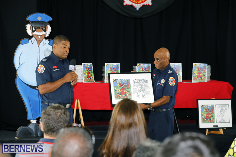 Fire Safety & Colouring Book Launching Bermuda Sept 15 2017 (6)