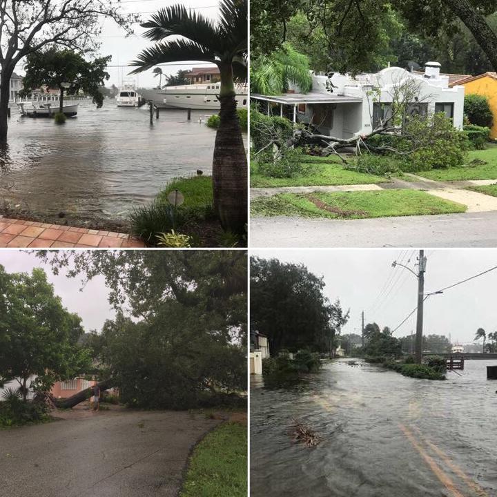 Hurricane Irma Bermuda Sept 2017