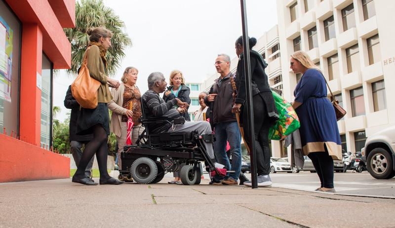 IBA Accessibility Walk Bermuda Sept 2017