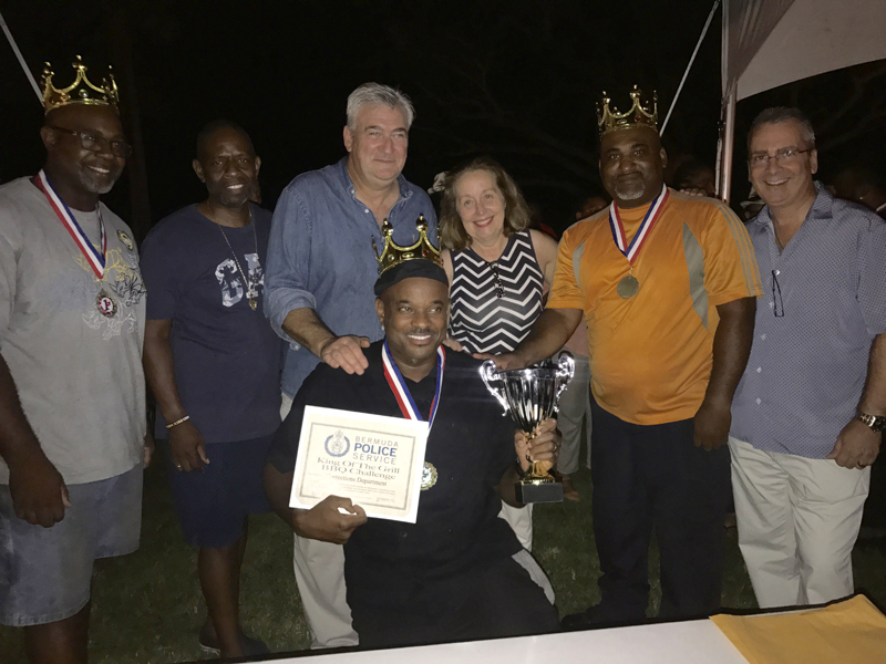 King of the Grill Champions Department of Corrections Bermuda Sept 2017