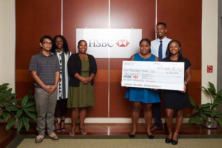 Knowledge Quest-HSBC Scholarship Bermuda Sept 2017 (1)