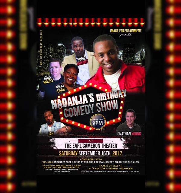 Nadanja's Birthday Comedy Show Bermuda September 16 2017