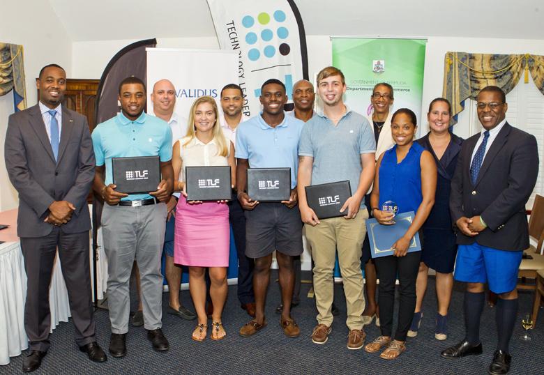 Premier Minister TLF Internship Graduation Bermuda Sept 2017 (1)