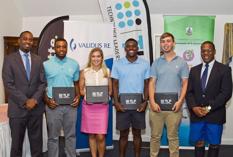 Premier Minister TLF Internship Graduation Bermuda Sept 2017 (2)