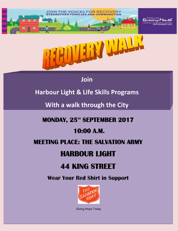 Recovery Walk Bermuda Sept 2017