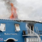 Robertson's Drug Store Fire Bermuda, September 2 2017_8446