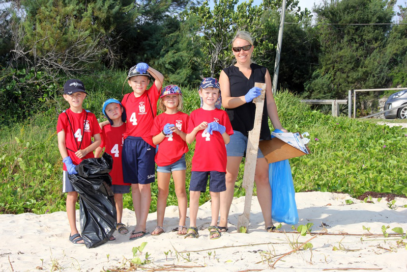 Saltus CleanUp at John Smith's Bay Bermuda Sept 2017 (3)