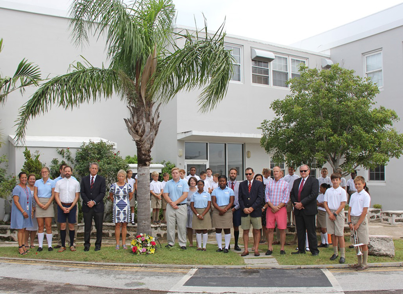 Saltus Remembers Sept 11 Victims Bermuda September 2017 (1)