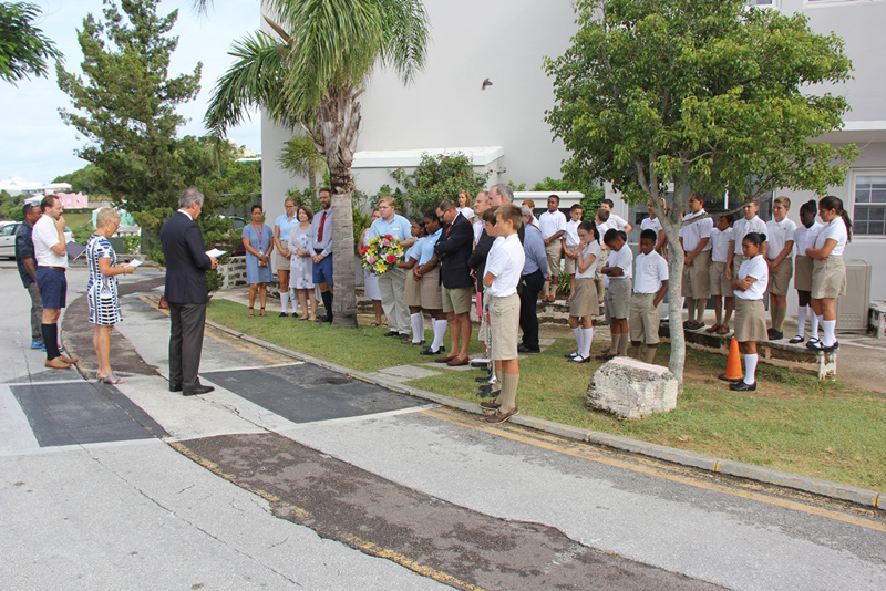 Saltus Remembers Sept 11 Victims Bermuda September 2017 (2)