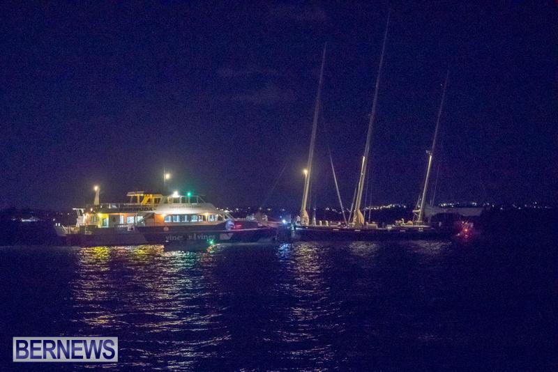 Spirit Of Bermuda Fast Ferry Police Boat, September 8 2017 (1)