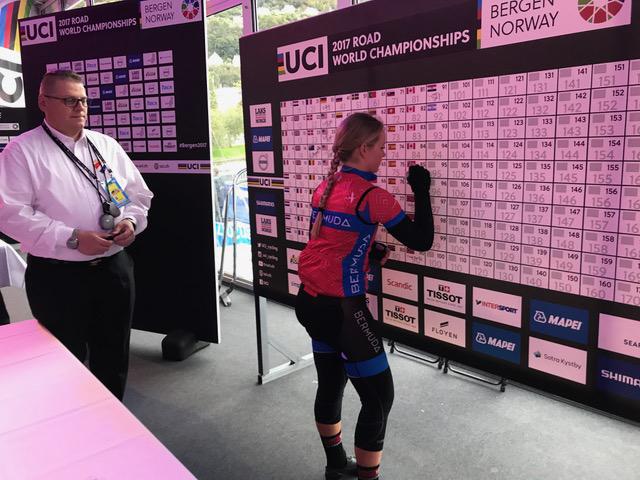 UCI Road World Championships Bermuda Sept 2017