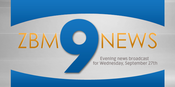 zbm 9 news Bermuda September 27 2017