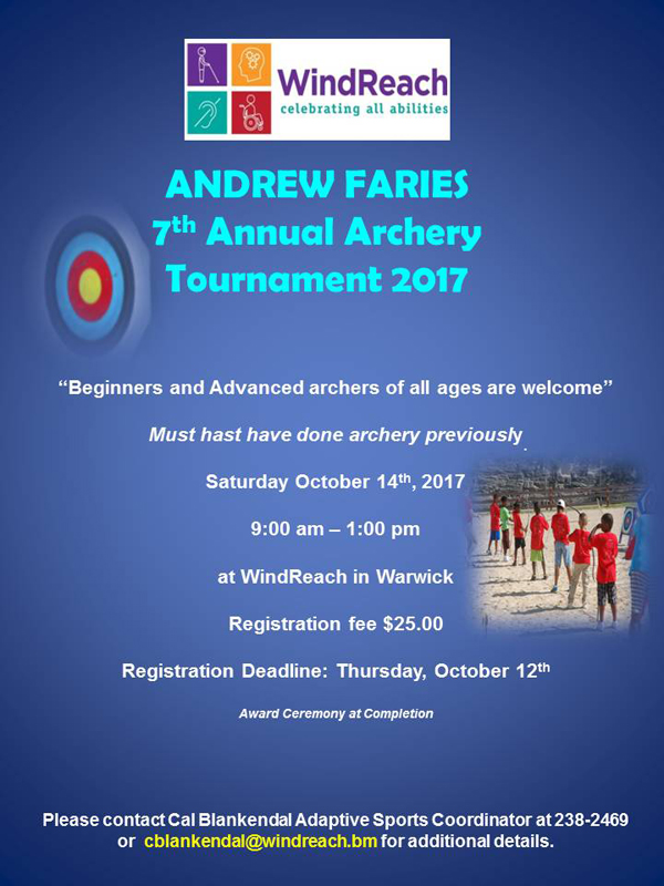 Annual archery competition Bermuda Oct 2017