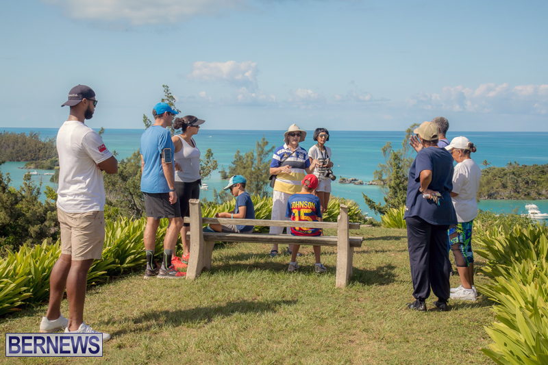 BTA Walk At Fort Scaur Bermuda Oct 22 2017 (10)