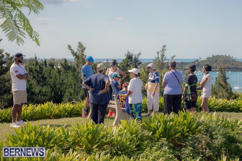BTA Walk At Fort Scaur Bermuda Oct 22 2017 (12)