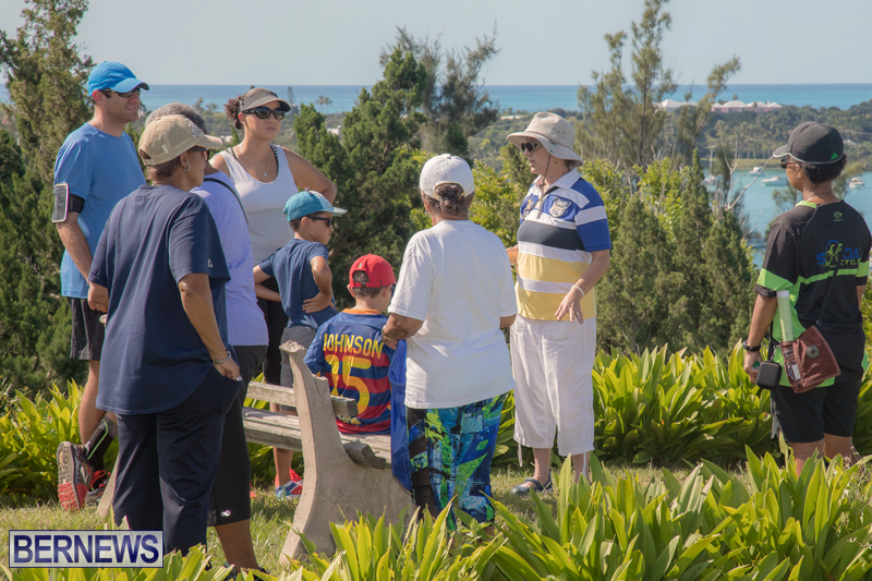 BTA Walk At Fort Scaur Bermuda Oct 22 2017 (13)