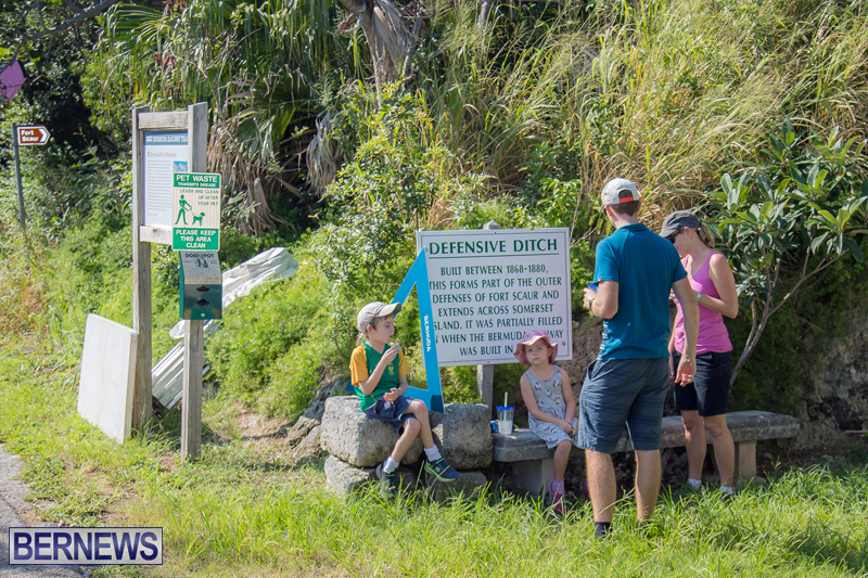 BTA Walk At Fort Scaur Bermuda Oct 22 2017 (4)