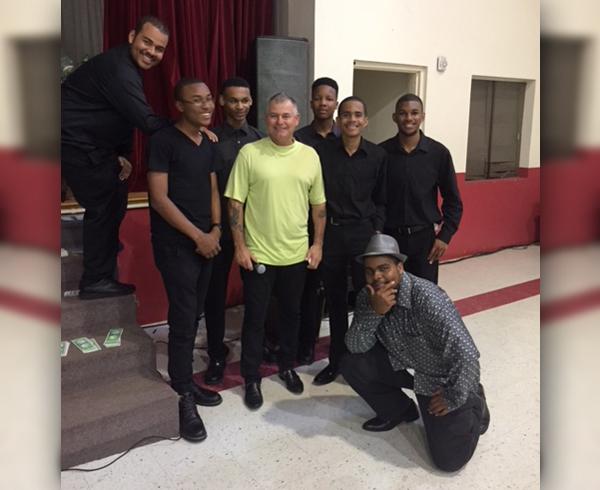 Bandseniors tea Bermuda Oct 30 2017