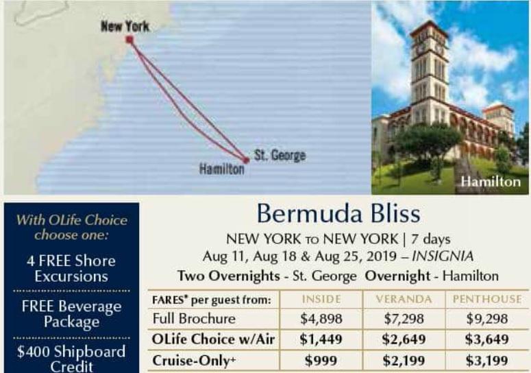 Bermuda Bliss October 2017