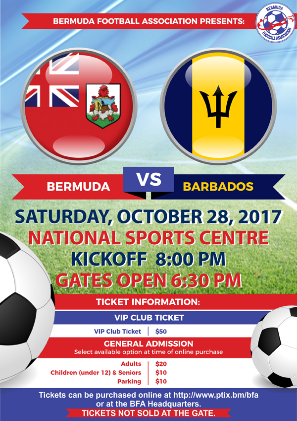 Bermuda vs Barbados October 2017