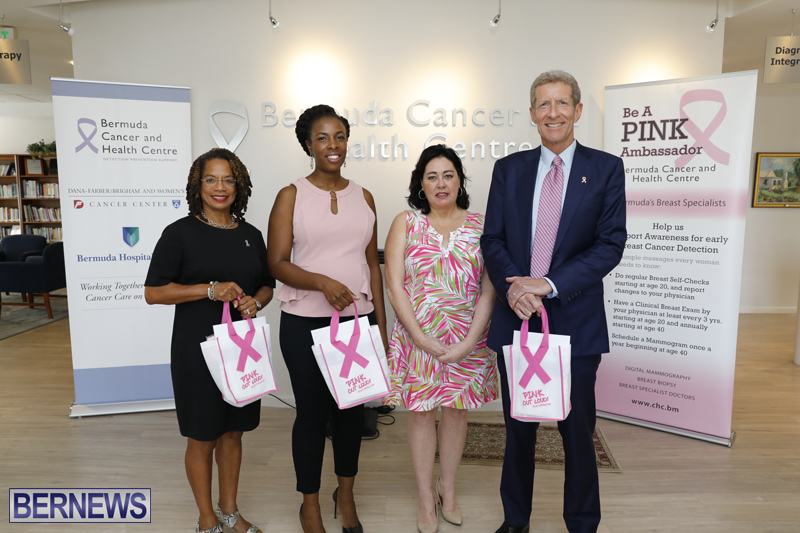 Breast Cancer Awareness Month Launch Bermuda Oct 2017