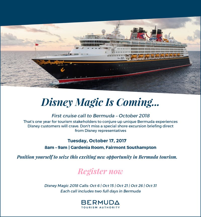 Disney flyer Bermuda October 4 2017