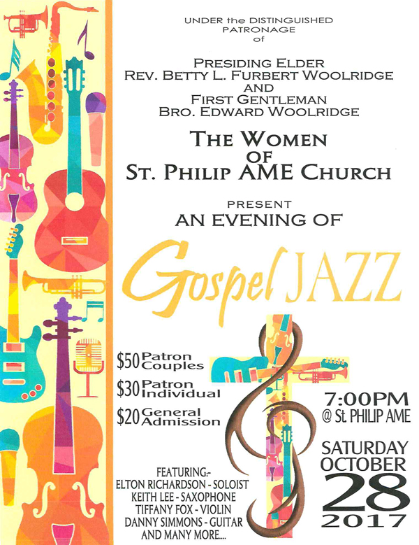 Gospel Jazz Bermuda Oct 2017