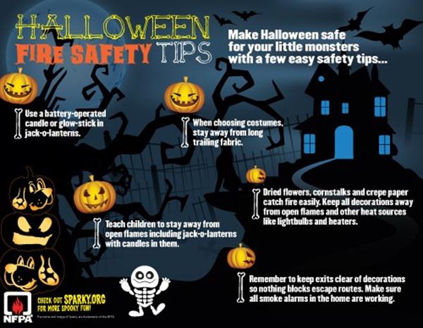 Halloween Fire Safety Tips Bermuda Oct 2017