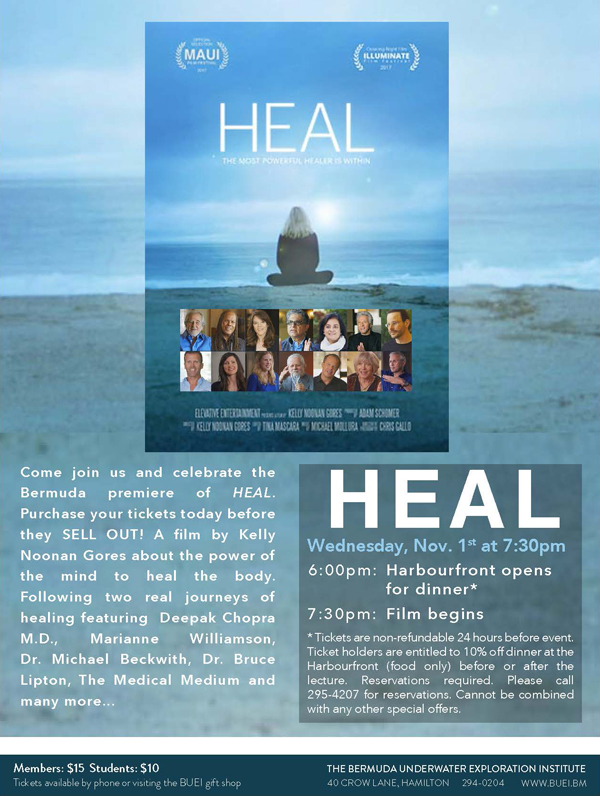 Heal Bermuda October 2017