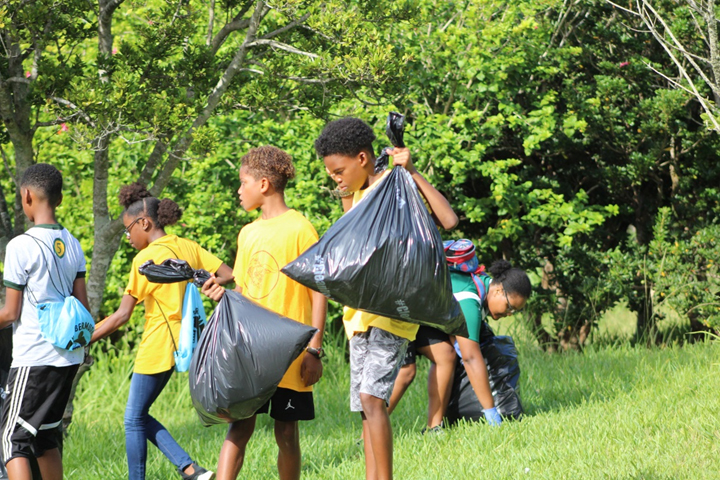 KBB Community Service Bermuda Oct 16 2017 10