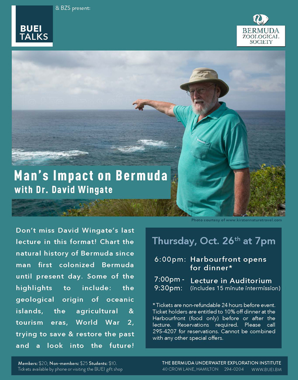 Mans Impact on Bermuda Oct 2017