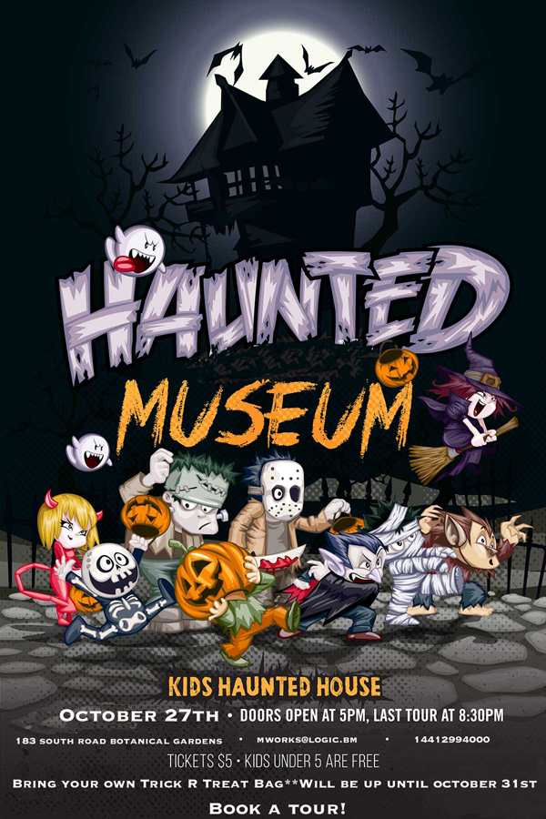 haunted museum 12x18 2014