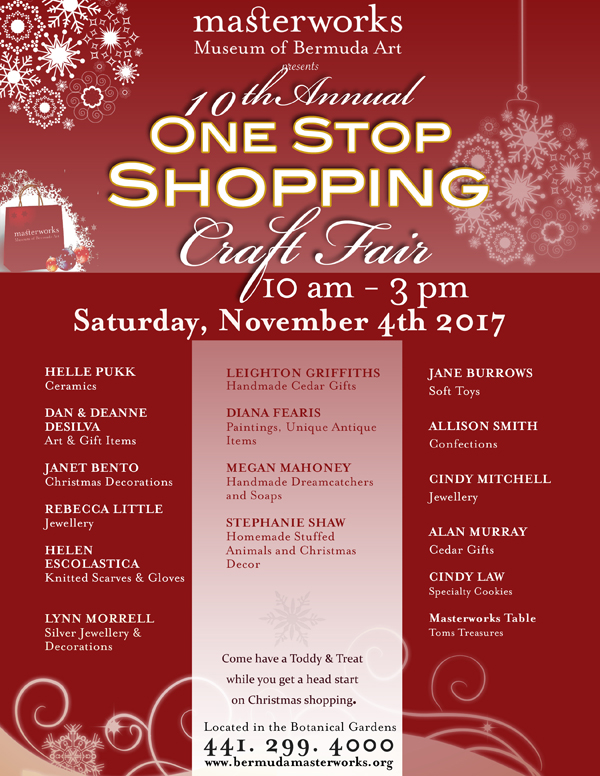 One Stop Shopping Bermuda Oct 2017