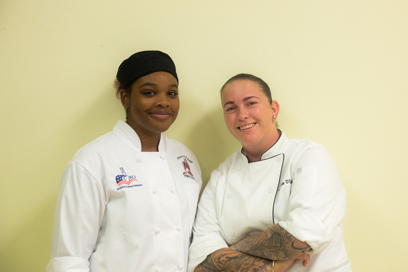 POP Sous Chef Juliana d'Estelle Roe & Terreicay Richardson Bermuda Oct 2017