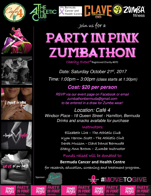 Party in Pink Bermuda Oct 2017
