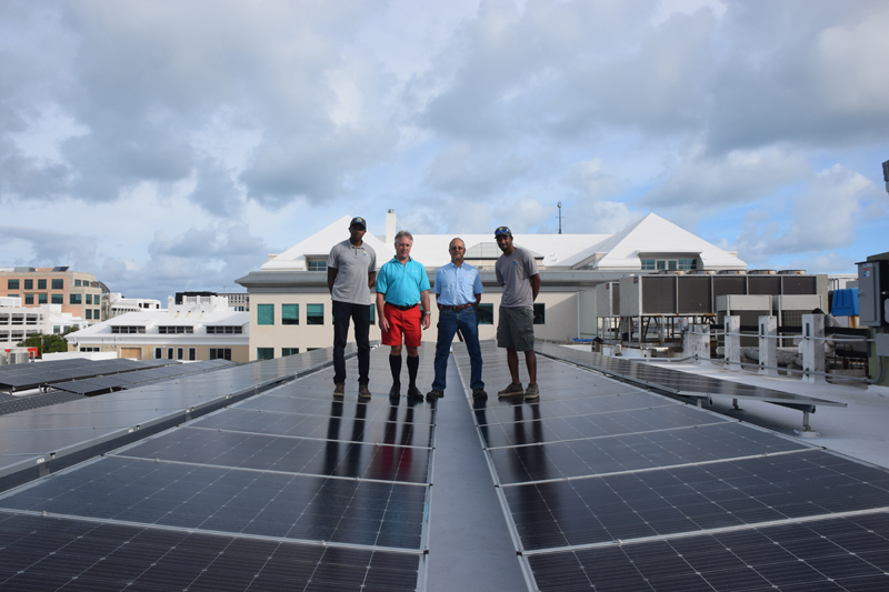 Solar Power Bermuda October 10 2017