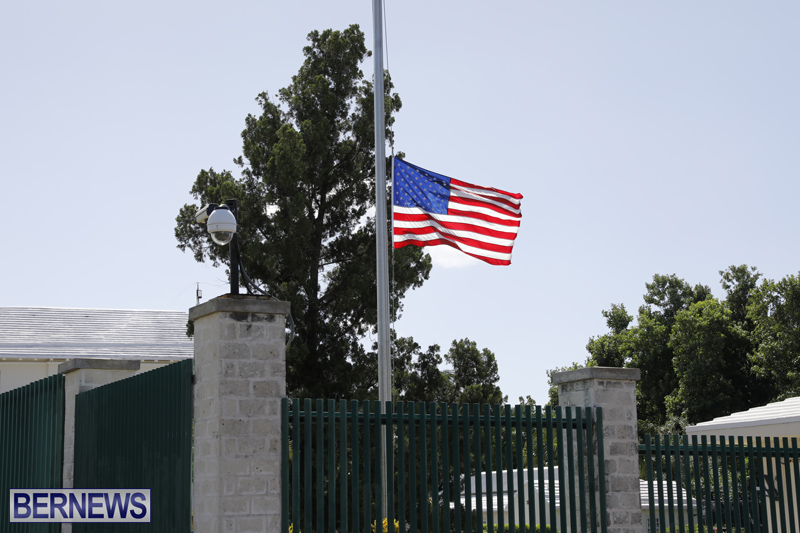US Consulate flag Bermuda Oct 3 2017 (1)